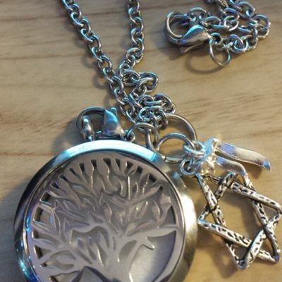 stainless steel locket tree of Life