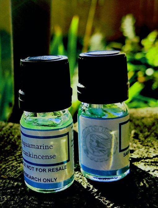 Blue Frankincense Aquamarine